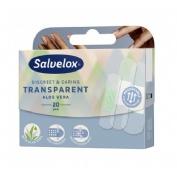 Salvelox - aposito adhesivo aloe vera (transp 20 apositos)