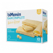 Bimanan bekomplett snack crackers queso (10 unidades 200 g)