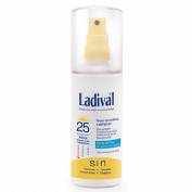 Ladival piel sensible alergica fps 25  gel-spray - fotoproteccion media (150 ml)