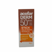 Acofarderm spf 50+ zonas sensibles stick (stick 15 g)