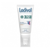 Ladival facial piel seca fps 50+ (color 50 ml)