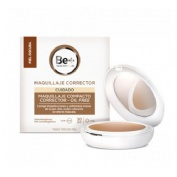 Be+ maquillaje compacto corrector oil free spf30 (p oscura 10 g)