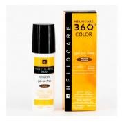 Heliocare 360º spf 50+ color gel oil-free - protector solar (bronze intense 50 ml)