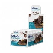 Bimanan barrita chocolate crujientes snack (35 g 24 barritas)