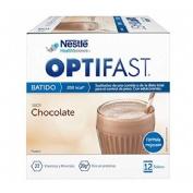 Optifast batido (53 g 12 sobres cacao)