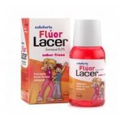 Lacer colutorio fluor semanal 0,2 % (fresa 100 ml)