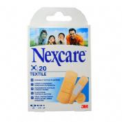 3m nexcare textile - aposito adhesivo (surtido 20 u)