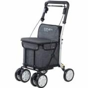 Carlett caminador 800 con ruedas gris