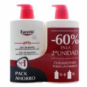Eucerin gel de baño 2º unidad 60 %
