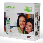 Everclean isdin pack gel purificante + cepillo (240 ml pack) | FarmClim