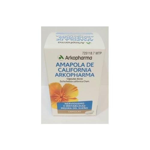 AMAPOLA DE CALIFORNIA ARKOPHARMA CAPSULAS DURAS , 84 cápsulas
