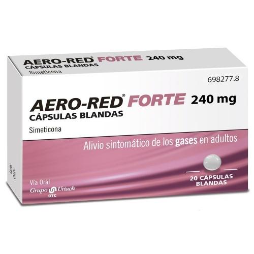 AERO-RED FORTE 240 MG CAPSULAS BLANDAS , 20 cápsulas blandas