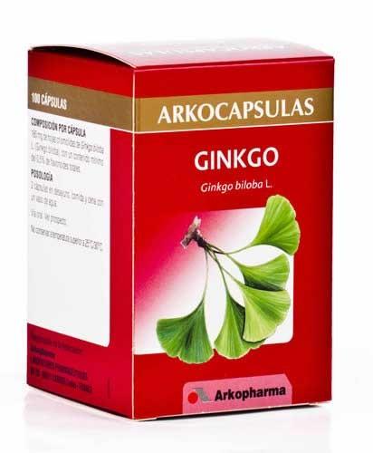 Arkocapsulas ginkgo biloba 100caps