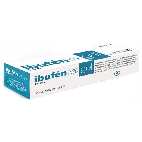 IBUFEN 50 mg/g GEL , 1 tubo de 50 g