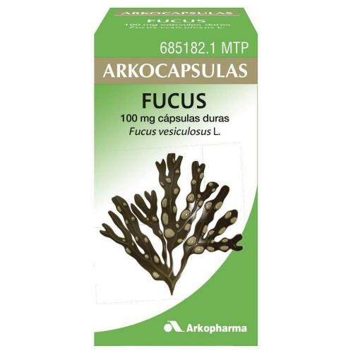 ARKOCAPSULAS FUCUS 100 mg CAPSULAS DURAS, 50 cápsulas