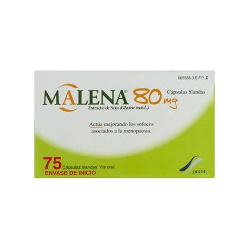 MALENA 80 mg CAPSULAS BLANDAS, 75 cápsulas