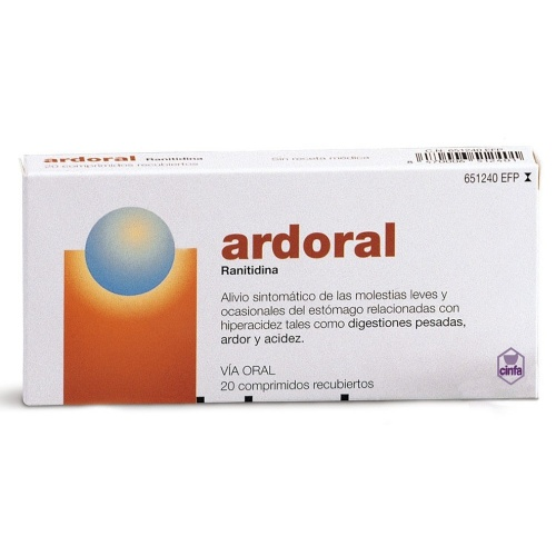 ARDORAL 75 mg comprimidos recubiertos , 20 comprimidos