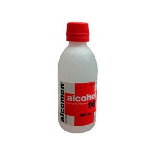 ALCOMON REFORZADO 96º SOLUCION CUTANEA , 1 frasco de 250 ml