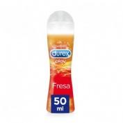 Durex play fresa  pleasure gel - lubricante hidrosoluble intimo (50 ml)