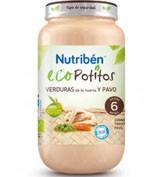 Nutriben eco seleccion verduras de huerta c pavo (potito grandote 250 g)