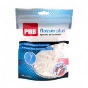 Phb flosser - hilo dental con aplicador (desechable)