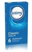 Intimy classic natural - preservativos (6 preservativos)