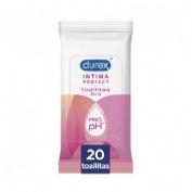 Durex intima protect toallitas intimas (20 toallitas)
