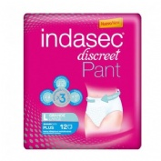 INDASEC PANT PLUS ABSORB INC ORINA DIA ANAT (T- L 12 ABSORB)