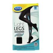 Medias e.t. cint comp ligera 60 den - scholl light legs (negro t - s)