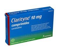 CLARITYNE 10 mg COMPRIMIDOS, 7 comprimidos