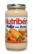 NUTRIBEN POLLO CON ARROZ (POTITO GRANDOTE 250 G)