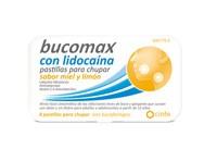 BUCOMAX CON LIDOCAINA PASTILLAS PARA CHUPAR SABOR MIEL Y LIMON, 8 pastillas