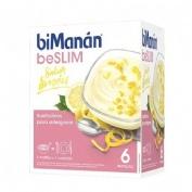 Bimanan natillas limon (50 g 6 sobres)