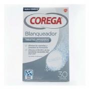 Corega blanqueador - limpieza protesis dental (30 tabletas)