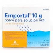 EMPORTAL 10 g  POLVO PARA SOLUCION ORAL , 50 sobres