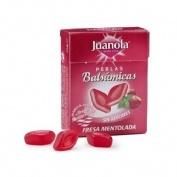 Juanola perlas fresa mentolada (25 g)