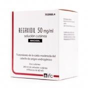 REGAXIDIL 50 mg/ml SOLUCION CUTANEA , 4 frascos de 60 ml