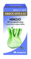 ARKOCAPSULAS HINOJO 300 mg CAPSULAS DURAS, 50 cápsulas