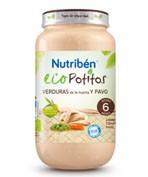 Nutriben eco seleccion verduras de huerta c pavo (potito junior 200 g)