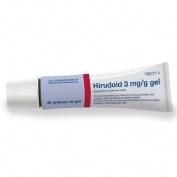 HIRUDOID 3 mg/g GEL , 1 tubo de 40 g