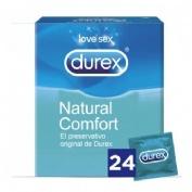 Durex natural plus - preservativos (24 u)