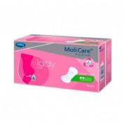 Absorbente incontinencia orina ligera - molicare premium lady pad (2 gotas 14 unidades)