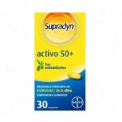 Supradyn activo 50+ antioxidantes (30 comp)
